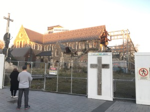 Christchurch in Cathedral Square