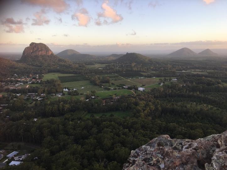 View to Mt Tibrogargan